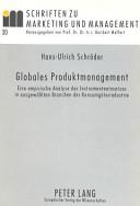 Globales Produktmanagement PDF