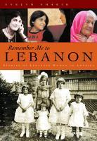 Remember Me To Lebanon PDF