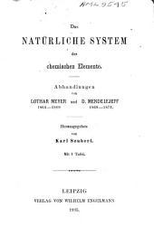 Das natürliche system der chemischen elemente