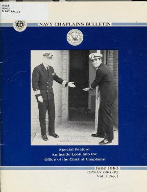 Navy Chaplains Bulletin PDF