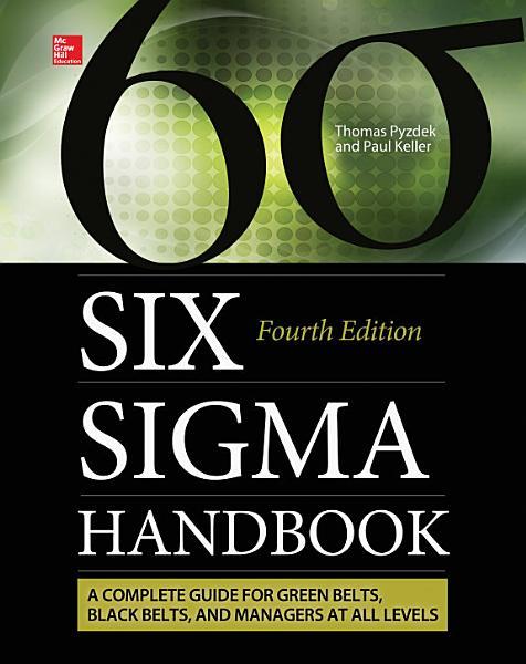 The Six Sigma Handbook  Fourth Edition