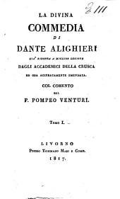 La Divina commedia di Dante Alighieri,.