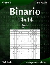 Binario 14x14 - Facile - Volume 8 - 276 Puzzle