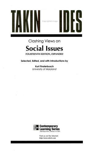 Clashing Views on Social Issues PDF