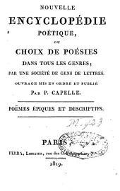 Nouvelle Encyclopédie poétique ou choix de poésies dans tous les genres: Volume2
