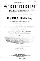 Patrologiae cursus completus ...: Series latina, Volume 20