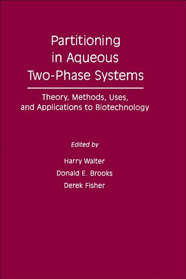 Partitioning In Aqueous Two     Phase System PDF