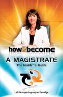 How 2 Become a Magistrate PDF