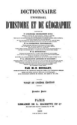 Dictionnaire universel d histoire et de g  ographie PDF