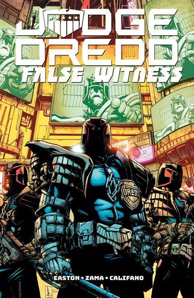 Download Judge Dredd  False Witness Book