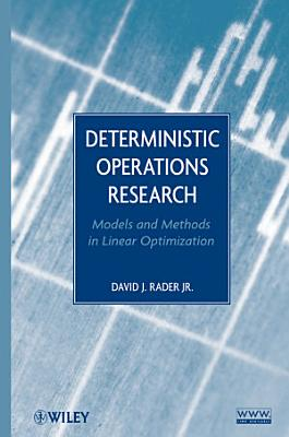 Deterministic Operations Research PDF