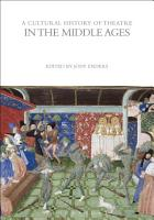 A Cultural History of Theatre in the Middle Ages PDF