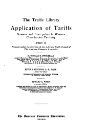 pt. 1-2] Application of tariffs: Western classification territory
