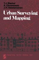 Urban Surveying and Mapping PDF