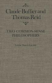 Claude Buffier and Thomas Reid: Two Common-Sense Philosophers