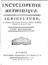 Encyclopédie méthodique: Agriculture, Volume4