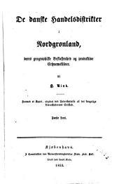 Grønland geographisk og statistisk beskrevet: Bind 1