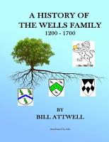 A History of the Wells Family 1200 1700 PDF