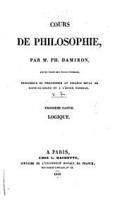 Cours de philosophie: Logique