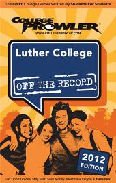 Luther College 2012