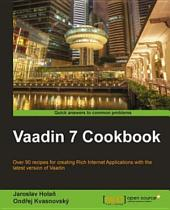 Vaadin 7 Cookbook