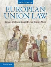 European Union Law: Text and Materials, Edition 3