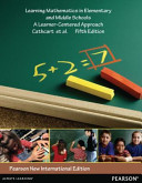 Learning Mathematics In Elementary And Middle Schools Pearson New International Edition Book PDF