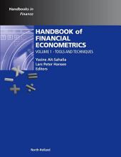 Handbook of Financial Econometrics: Tools and Techniques