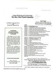 Food Production management PDF