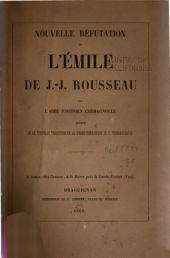 Nouvelle réfutation de l'Émile de J.J. Rousseau