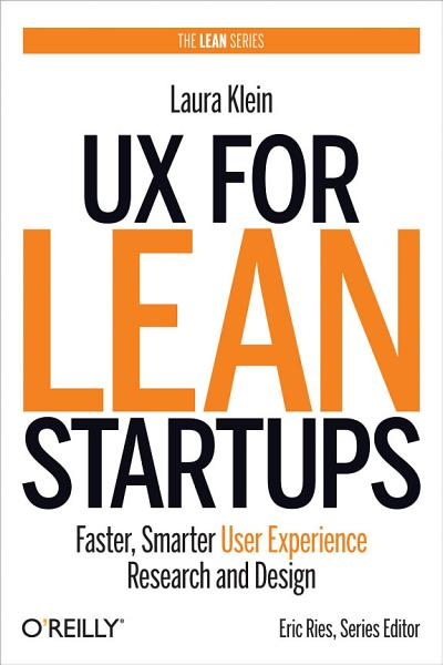 UX for Lean Startups PDF