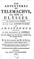 The Adventures of Telemachus PDF