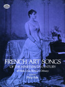 French Art Songs of the Nineteenth Century PDF