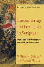 Encountering the Living God in Scripture