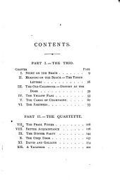 The Ebb Tide: A Trio & Quartette