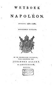 Code Napoléon: Volume 2