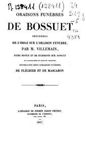 Oraisons funèbres de Bossuet