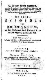 Kristische Geschichte der Spanischen Inquisition
