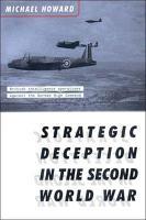 Strategic Deception in the Second World War PDF