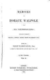 Memoirs of Horace Walpole and His Contemporaries: Including Numerous Original Letters, Chiefly from Strawberry Hill, Volume 2