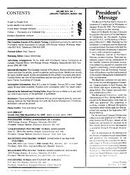 The Canadian Journal Of Psychiatric Nursing Book PDF