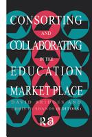 Consorting And Collaborating In The Education Market Place PDF