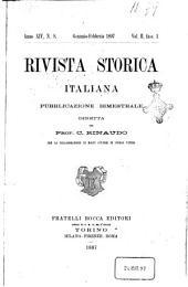 Rivista storica italiana: Volume 14