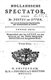 Hollandsche spectator: Volume 5