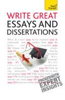 Write Great Essays and Dissertations: Teach Yourself Ebook Epub