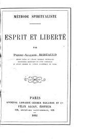 Méthode spiritualiste