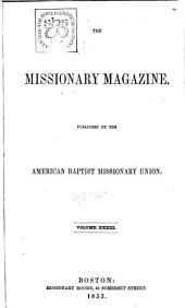 The Baptist Missionary Magazine: Volume 33