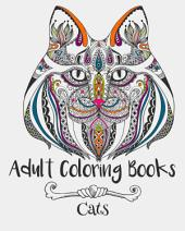 Adult Coloring Books: Cats