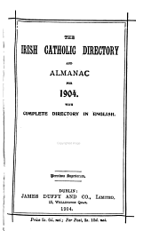 The Irish Catholic Directory and Almanac