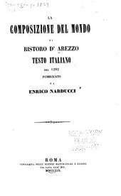 La composizione del mondo di Ristoro d'Arezzo: testo italiano del 1282